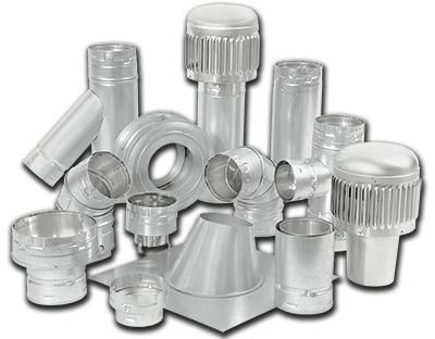 Type B Gas Vent Pipe & Fittings